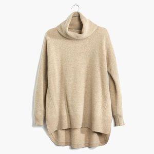 Madewell wool turtleneck sweater